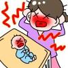 夜泣きで寝不足の対策は?頭痛の解消と胃もたれについて