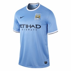 Manchester City 2013/14 Home Jersey