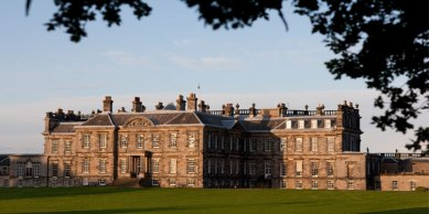 Back of Hopetoun House