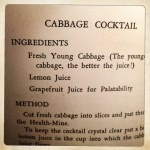 fresh young cabbage? wasn't that a nineties band?