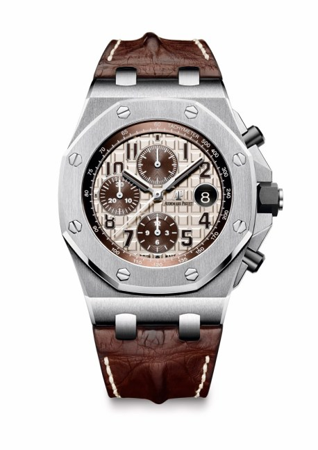 Royal Oak Offshore Chronograph esfera marfil