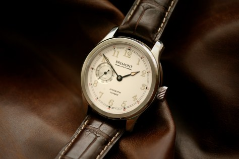 Bremont Wright Flyer oro blanco