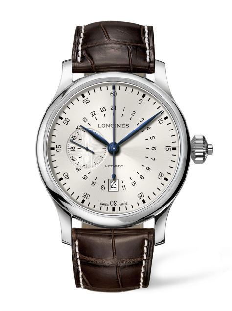 Longines 24 hours single push piece chronograph