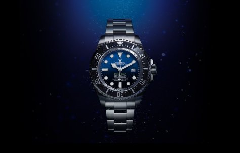 Rolex Deepsea D-blue frontal