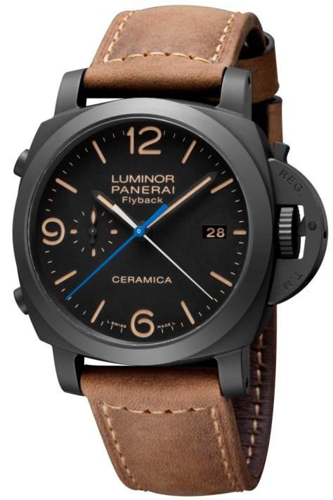 Panerai Luminor 1950 3 Days Chrono Flyback Automatic Ceramica - 44mm frontal 1