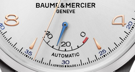 Baume & Mercier Clifton Big Date and Power Reserve -indicador de reserva de marcha
