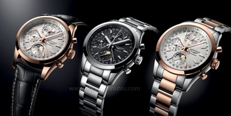 Longines Conquest Classic Moonphase trío