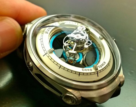 Deep Space Tourbillon - Vianney Halter -Vista del calibre