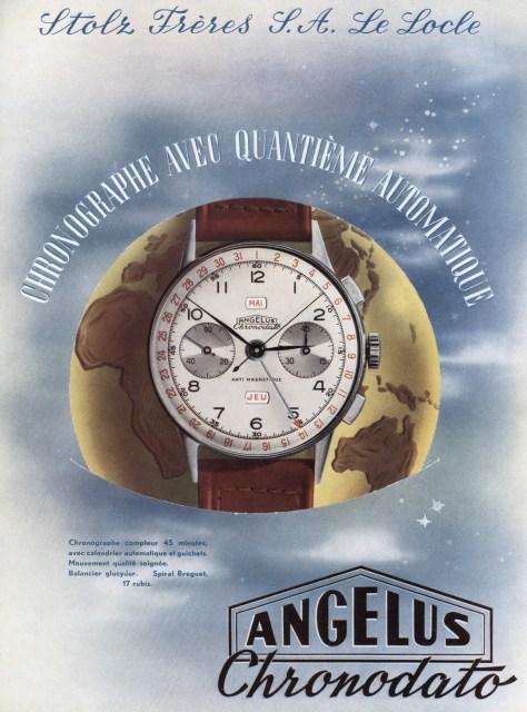Angelus 1942 Chronodato - anuncio