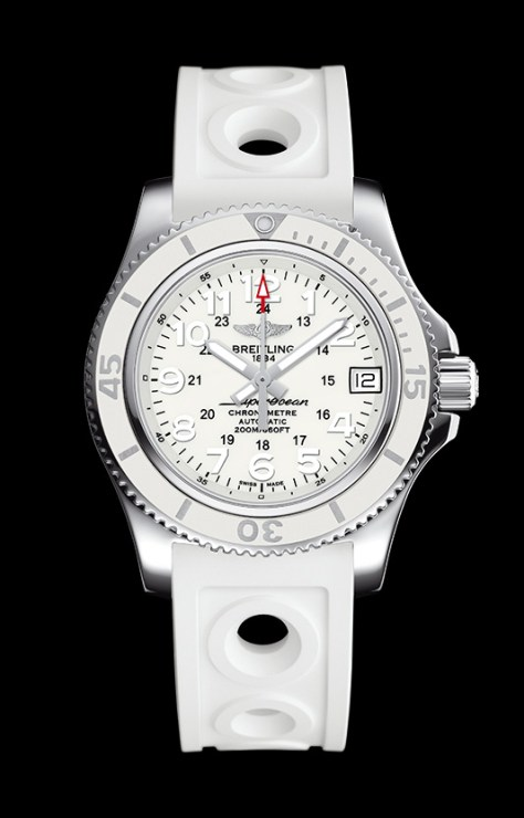Breiling Superocean 36 mm blanco