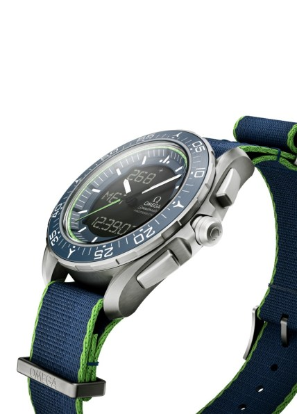 OMEGA Speedmaster Skywalker X-33 Solar Impulse Edición Limitada - lateral