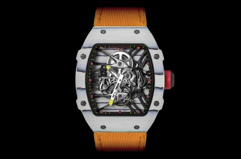 Richard Mille RM 27-02 Tourbillon Rafael Nadal frontal
