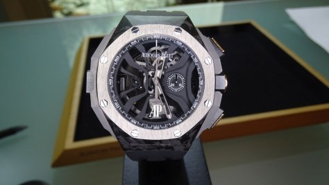 Audemars Piguet Royal Oak Concept Laptimer Michael Schumacher frontal