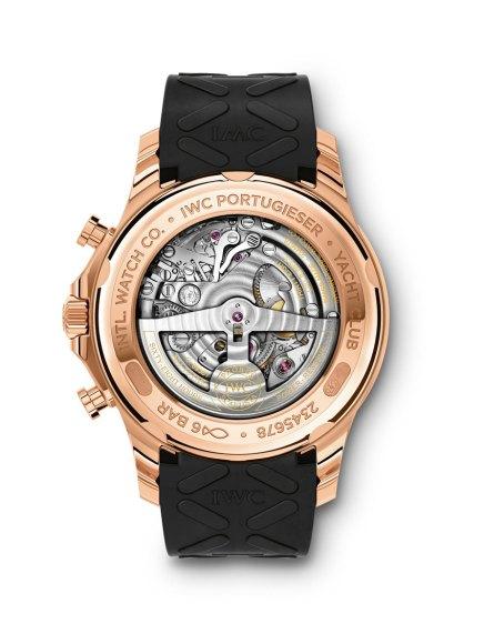 IWC Portugieser Yatch Club Chronograph oro reverso