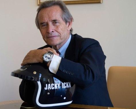 Jacky Ickx con su Chopard