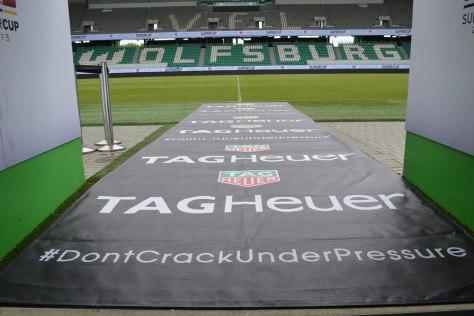 TAG Heuer estadio del Wolfsburgo