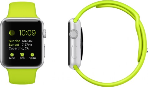 Apple Watch verde