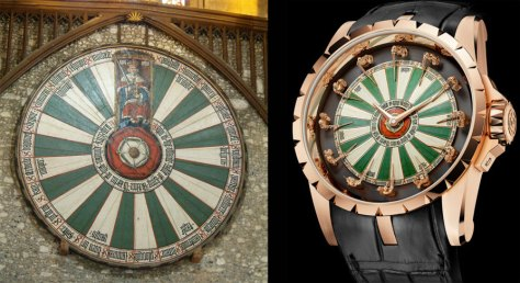 La mesa del Rey Arturo y el Roger Dubuis Roger Dubuis Excalibur Knights of the Round Table - 2013