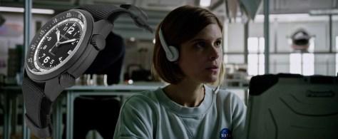 The Martian Kate Mara Hamilton Khaki Pilot Pioneer Aluminium