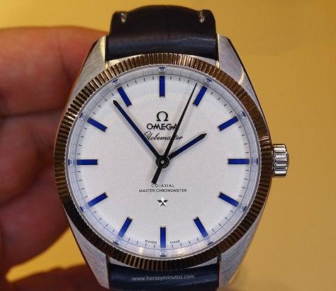 OMEGA Globemaster Master Chronometer platino