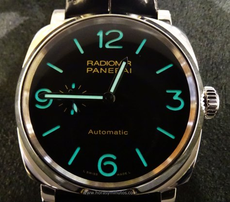 Panerai Radiomir 1940 3 Days Automatic acero SuperLuminova