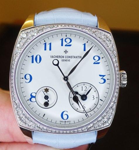 Vacheron Constantin Harmony Dual Time modelo pequeño