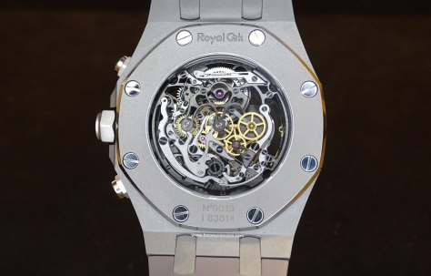 Audemars Piguet Royal Oak Tourbillon Chronograph calibre 2936 Horas y Minutos