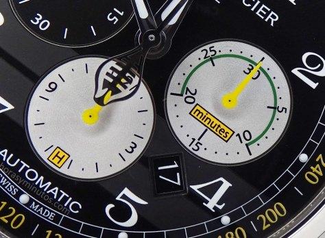 Baume-Mercier-Capeland-Shelby-Cobra-1963-detalle-esfera-Horasyminutos