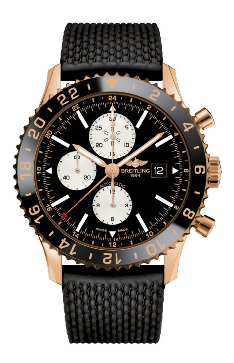 Breitling-Chronoliner-Red-Gold-Limited-Edition-Horasyminutos