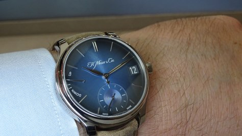 H Moser Funky Blue SalonQP
