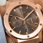 En la muñeca: Hublot Classic Fusion Racing Grey Chronograph King Gold