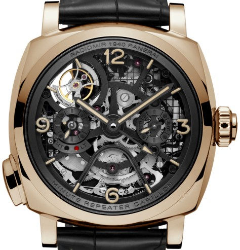 Panerai-Radiomir-1940-Minute-Repeater Carillon-Tourbillon-GMT-1-Horasyminutos