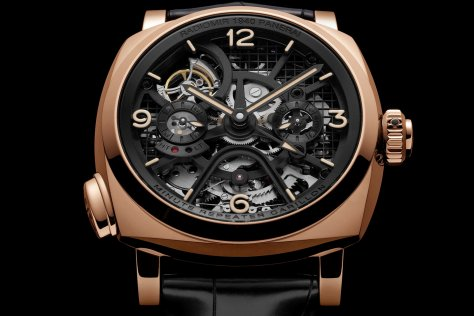 Panerai-Radiomir-1940-Minute-Repeater Carillon-Tourbillon-GMT-frontal-Horasyminutos