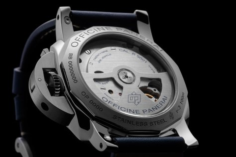 Panerai-blue-dial-Luminor-1950-3-Days-GMT-Automatic-Acciaio-calibre-Horasyminutos