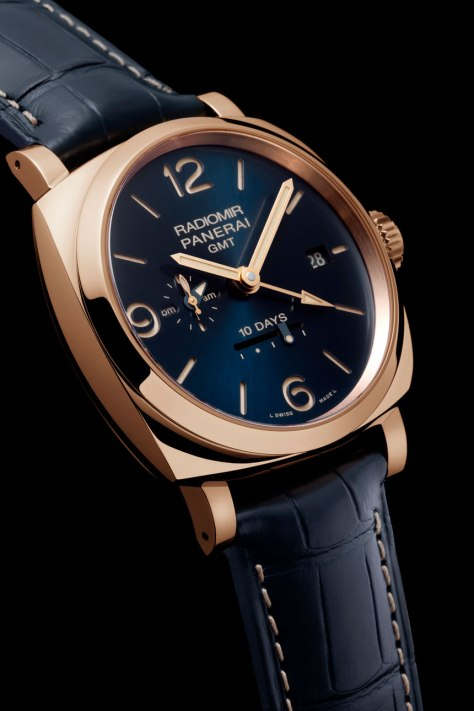 Panerai-blue-dial-Radiomir-1940-10-Days-GMT-Automatic-Oro-Rosso-1-Horasyminutos
