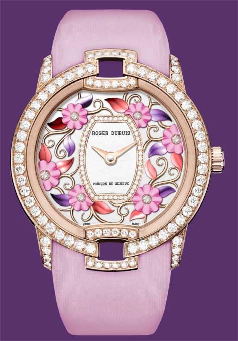 Roger Dubuis Blossom Velvet Pink frontal