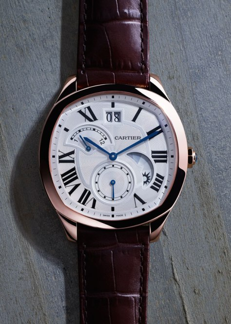 SIHH-2016-CARTIER-Drive-de-Cartier-Second-Time-Zone-pink-gold