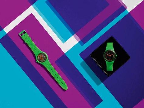 Swatch-sistem51-frog-Horas-y-Minutos