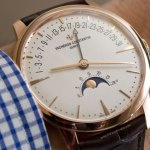 En la muñeca: Vacheron Constantin Patrimony Moon Phase And Retrograde Date
