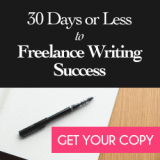 30 Days to freelance writing success