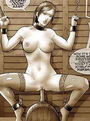 naked captured women