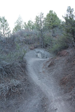 Star Wars Trail is steep and narrow, at times, with blind corners and dominant user trends. Directional, one-way travel is recommended on this trail.