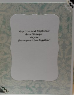 Small Of Wedding Card Message