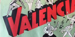 Forside fra Valencias program (1930'erne)
