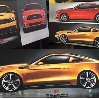 So the 2015 Saleen 302 Mustang looks like....a Camaro.