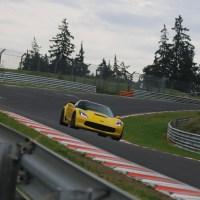 2015 Corvette C7 Z06 caught testing at the Nürburgring Nordschleife, breaks front splitter