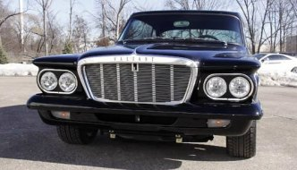 Pratt and Miller Hemi powered 1962 Valiant resto mod with CNC machined replacement grill