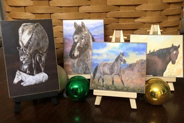 Mini Horse Prints