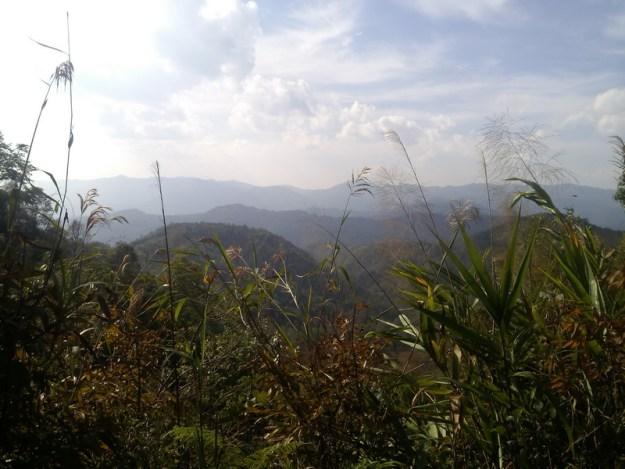 Laos China border region