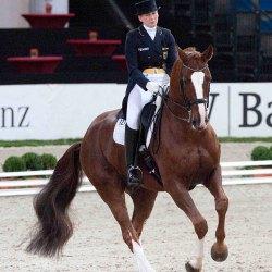 Anabel Belkenhol and Dablino . © Paul Harding @lewishardingimages.com